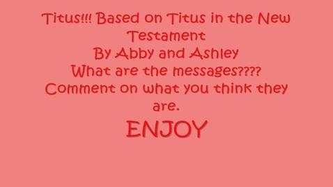 Thumbnail for entry Titus