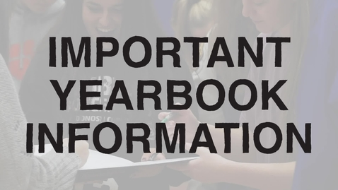 Thumbnail for entry Yearbook Distribution May 17