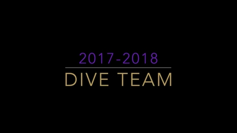 Thumbnail for entry 17-18 Dive Team (Silent)mp4