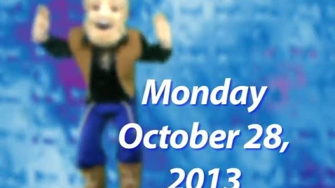 Thumbnail for entry Monday, October 28, 2013