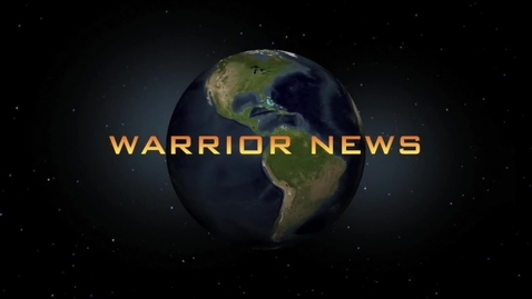 Thumbnail for entry Warrior News January 2015