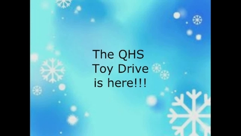 Thumbnail for entry Block 1 MP Toy Drive Video