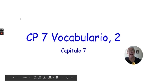 Thumbnail for entry CP 7 VOCAB 2