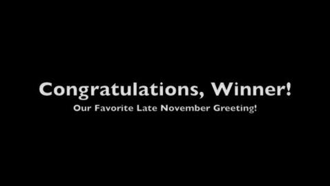 Thumbnail for entry NaNo Winners 2011