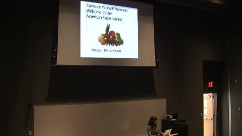 Thumbnail for entry Supermarket Psychology (Lauren Lob)