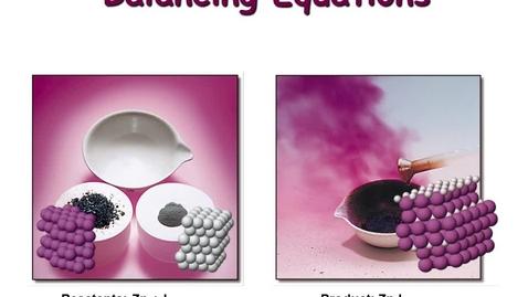 Thumbnail for entry Balancing Equations