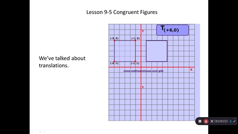 Thumbnail for entry 8th Grade - 4th Quarter Lesson 9-5 Video Lesson #1 for Friday 4/24/2020