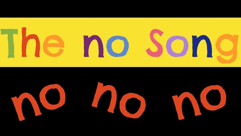 Thumbnail for entry The no Song