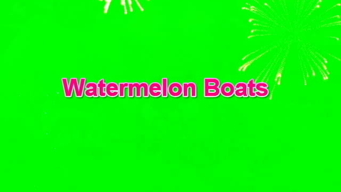 Thumbnail for entry Watermelon Boats