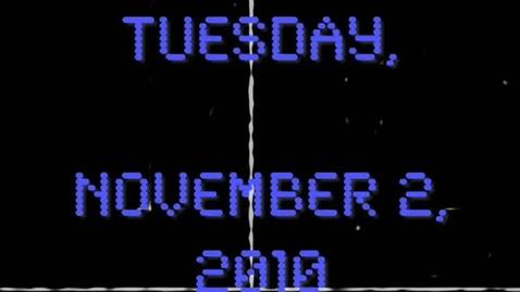 Thumbnail for entry Tuesday, November 2, 2010