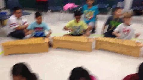 """Thumbnail for entry 14-15 Ms. Foster's 3rd grade class """"John Kanaka"""" sea shanty"""