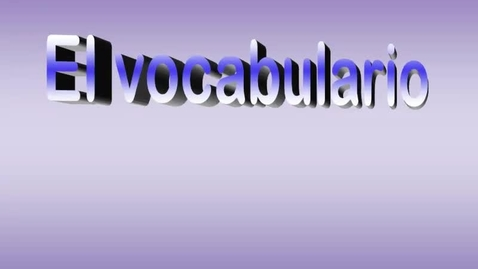 Thumbnail for entry Chapter 1a Vocabulary