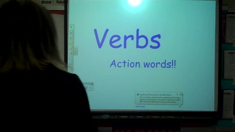 Thumbnail for entry 3rd - ASL Spelling lesson VERBS