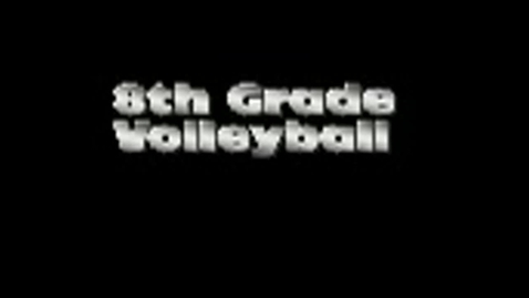 Thumbnail for entry Girls' Volleyball Brownell Middle School