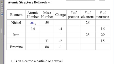 Thumbnail for entry Electron Orbitals Notes