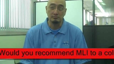 Thumbnail for entry McREL's Mathematics Leadership Institute Interview 2