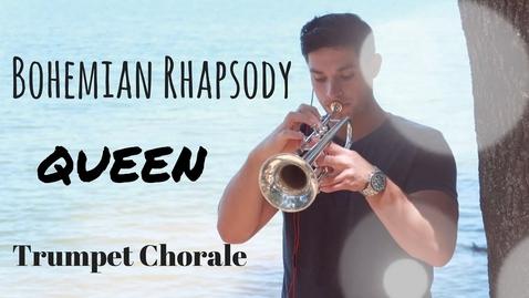 Thumbnail for entry (Queen) - Bohemian Rhapsody  - 5 PART Trumpet Chorale