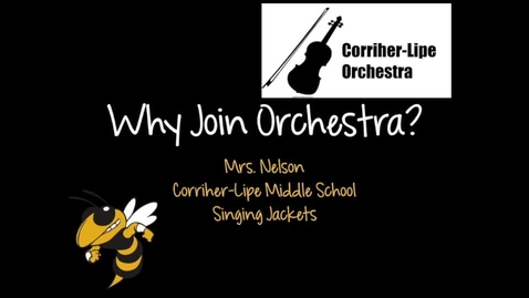 Thumbnail for entry CLMS Orchestra Recruitment Video 2020