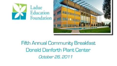 Thumbnail for entry LEF Community Breakfast 2011