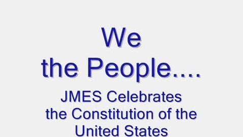 Thumbnail for entry The Preamble to the United States Constitution