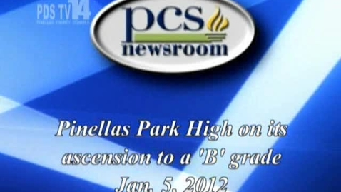Thumbnail for entry Pinellas Park High ascension to B-Grade