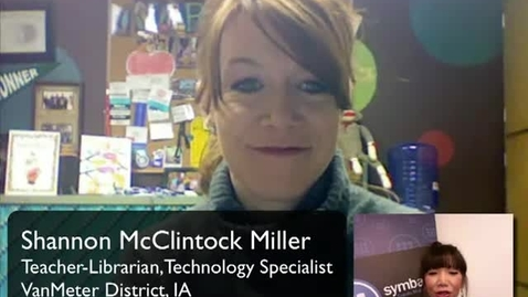 Thumbnail for entry SymbalooEDU Educator Spotlight: Shannon M Miller