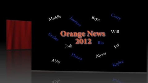 Thumbnail for entry Orange News 2-28-2012