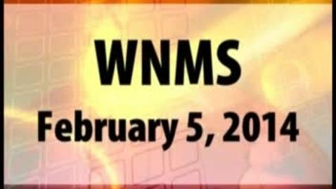 Thumbnail for entry 02-05-14 WNMS Season 1.5 Episode 72