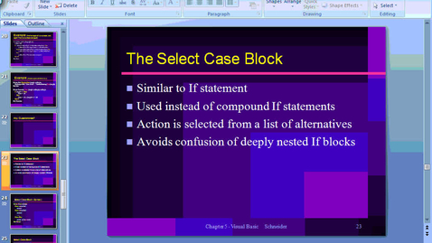 Thumbnail for entry Case Statements