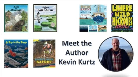 Thumbnail for entry  Meet the Author - Kevin Kurtz