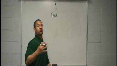 Thumbnail for entry Coach Christopher Bocage Perfect Routes - Trace Route