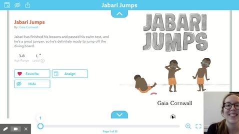 Thumbnail for entry Jabari Jumps Read Aloud