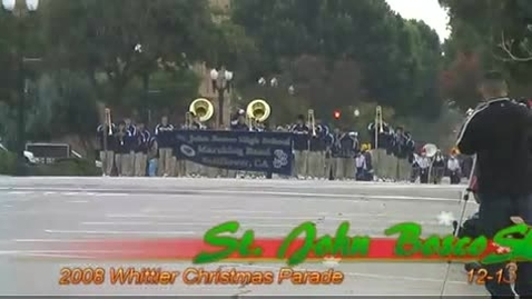 Thumbnail for entry Whittier Christmas Parade 2008