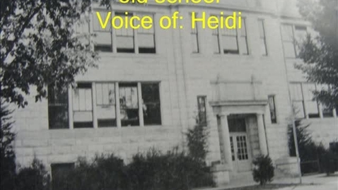 Thumbnail for entry History of Theodore Roosevelt School