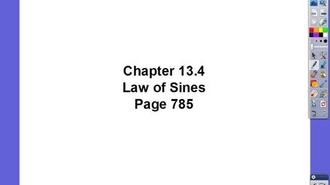 Thumbnail for entry Algebra II Ch 13.4