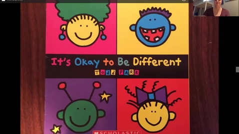Thumbnail for entry It's okay to be different readaloud