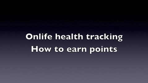 Thumbnail for entry Onlife health trackers...