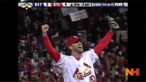 Thumbnail for entry Adam Wainwright's Natural High - MLB Pitcher