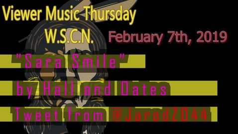 Thumbnail for entry WSCN 02.07.19 - Viewer Music Thursday