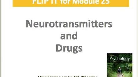 Thumbnail for entry Neurotransmitters and Drugs
