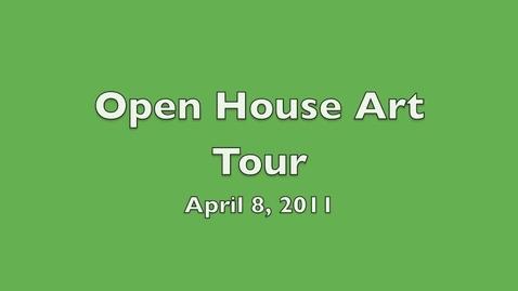 Thumbnail for entry Open House Art Tour