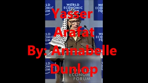 Thumbnail for entry Yasser Arafat - Engineer