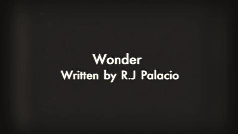Thumbnail for entry Wonder Book Trailer