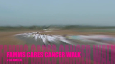 Thumbnail for entry 2012 FAMMS Cares Cancer Walk