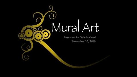 Thumbnail for entry Murial Art Lesson 11_10_2010 RUSD