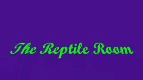 Thumbnail for entry The Reptile Room