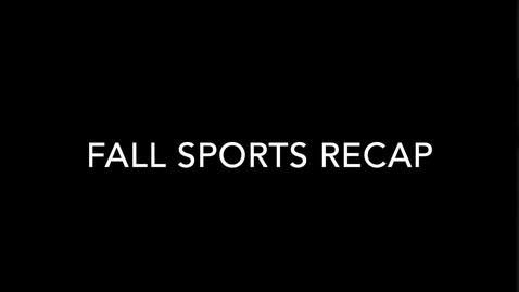 Thumbnail for entry Olentangy Shanahan Fall Sports Recap