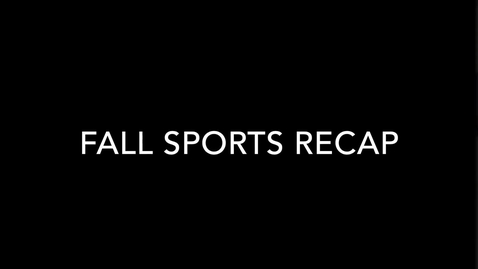 Thumbnail for entry Olentangy Shanahan Fall Sports Recap