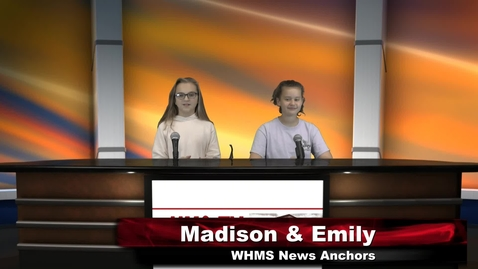 Thumbnail for entry WHMS Morning Show Nov 4, 2019