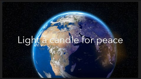 Thumbnail for entry Light a Candle for Peace
